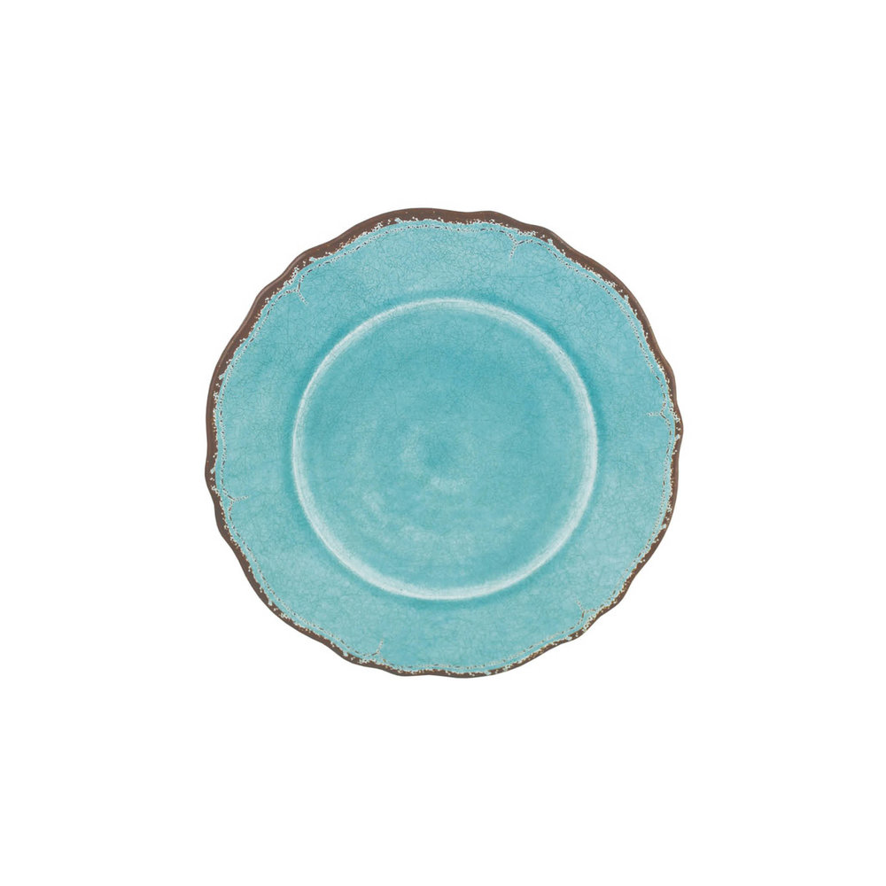 Antiqua Turquoise Salad Plate $13.95   Wants 8 Has 8 Needs 0