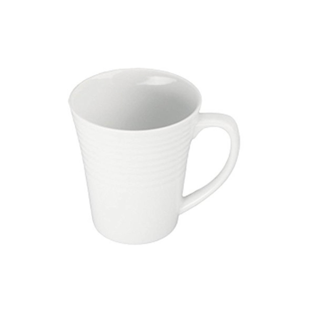 Ribbed White Coffee Mug $6.95   Wants 8 Has 2 Needs 6