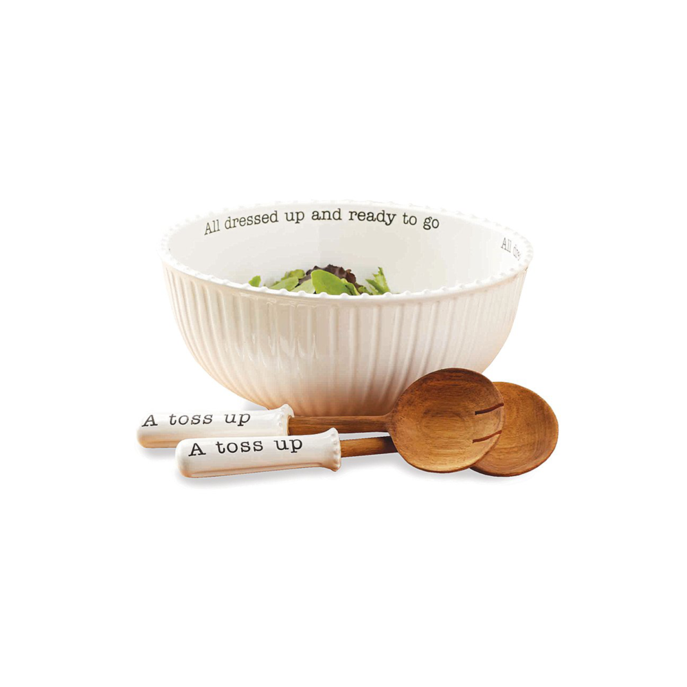 Circa Salad Bowl Set $62.95   Wants 1 Has 1 Needs 0