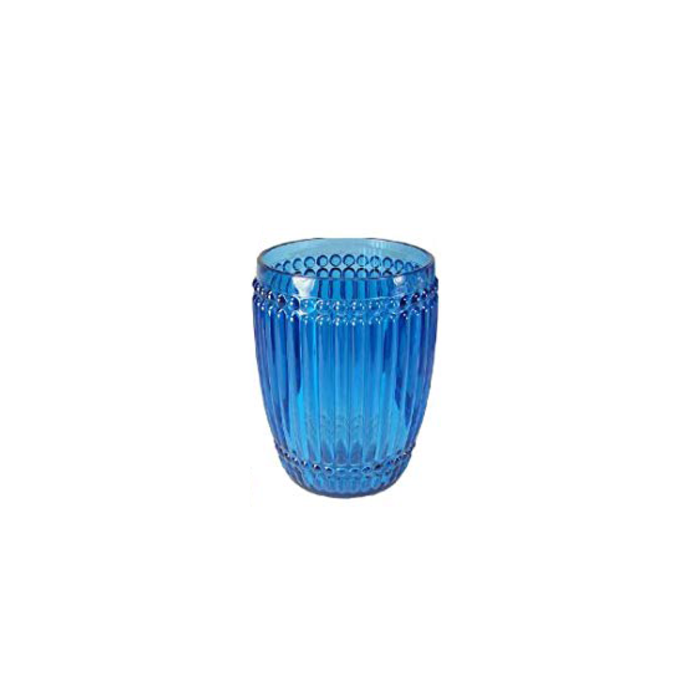 Milano Blue Tumbler Small  $9.95   Wants 4 Has 2 Needs 2