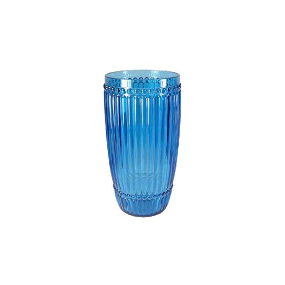 Milano Blue Tumbler Large $9.95   Wants 4 Has 4 Needs 0