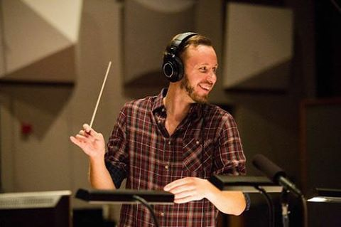 Meet our Conductor and Composer of the Day, Nicholas Jacobson-Larson! Hear the world premiere of his new composition on CPC II - January 15, 2016 @ 8 pm 🎶#cpcii #cpccomposeroftheday