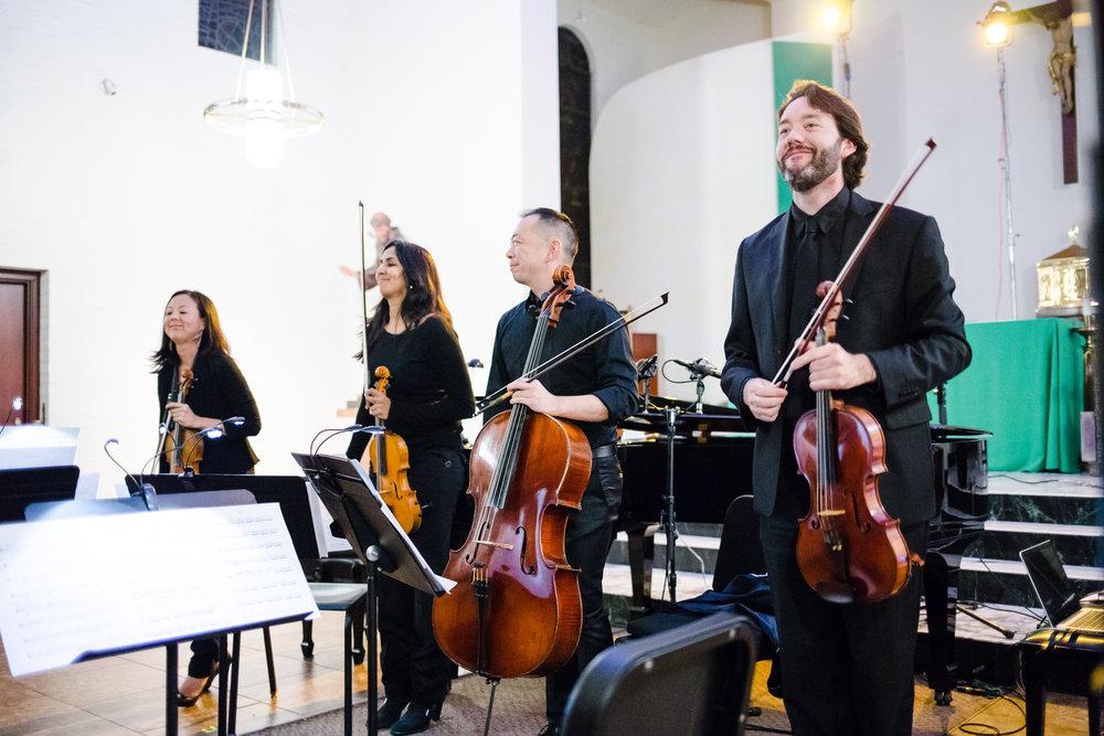 The Lyris Quartet performs at CPC II