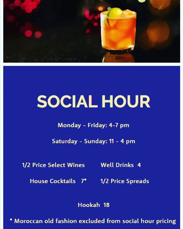 🍾Celebrate #ThirstyThursday & join us for #SocialHour! 🍺🍹🍸🍻🍷🍴 #BaboushDallas