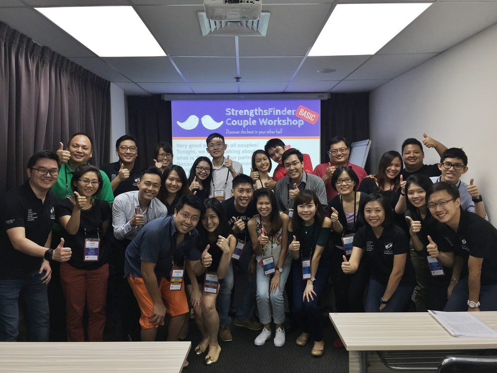 Singapore StrengthsFinder Couple Workshop Marriage Coaching Victor Seet