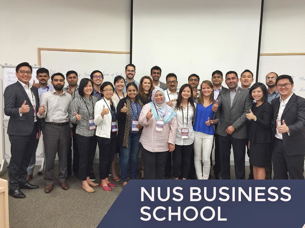 Singapore StrengthsFinder Workshop NUS Business School