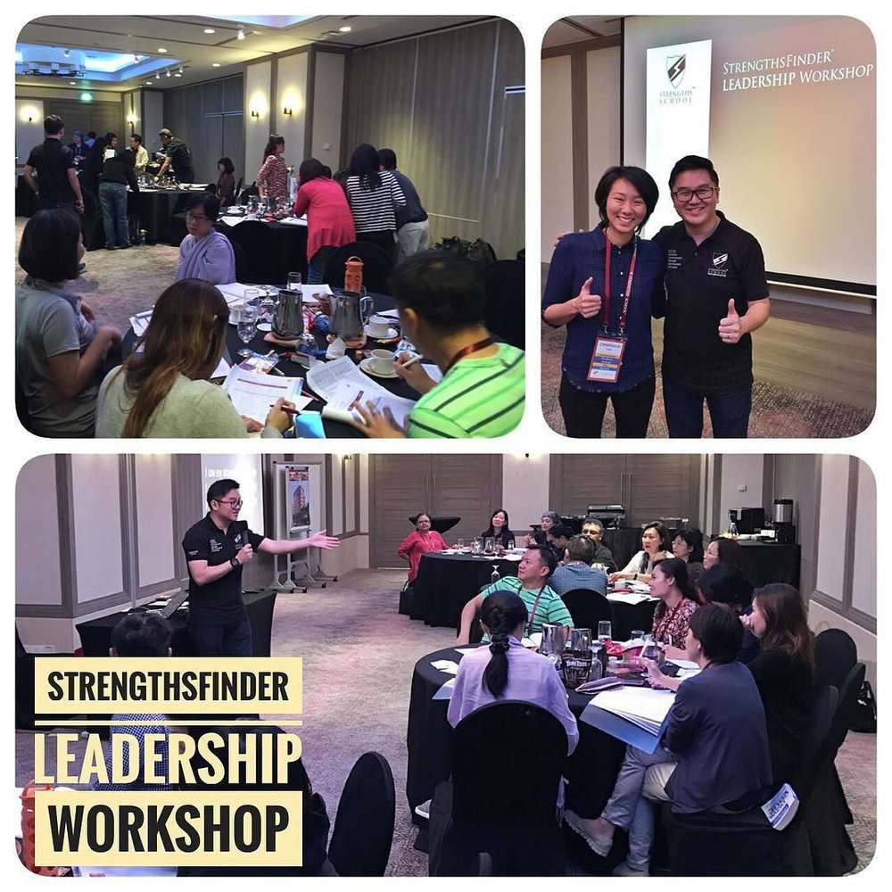 StrengthsFinder Singapore Workshop Leadership Eunos Primary School Victor Seet
