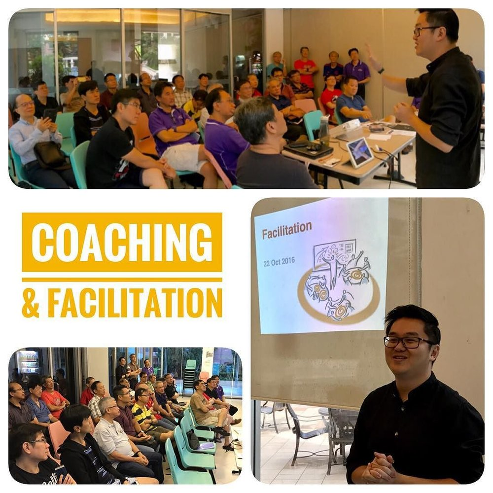 Coaching Faciliation Workshop Singapore church leadership Victor Seet