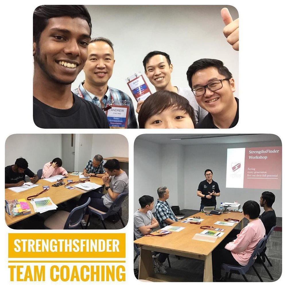 Singapore StrengthsFinder Workshop Hatch Design Consultancy SME Victor Seet