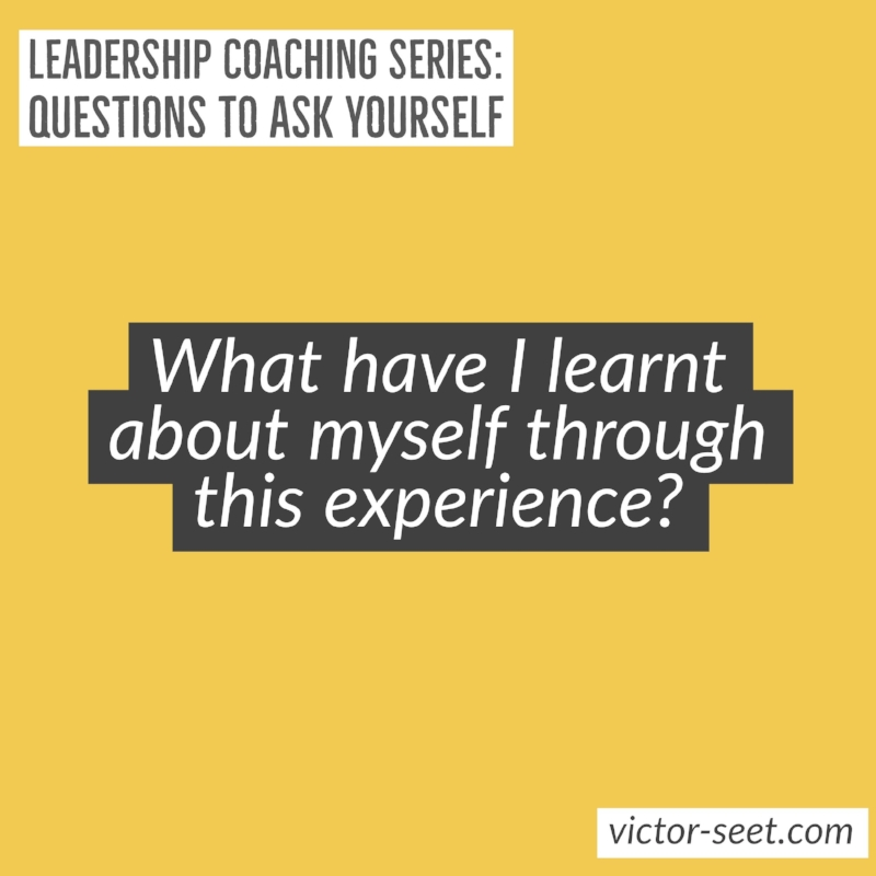 Singapore StrengthsFinder Leadership Coaching Question Victor Seet Debriefing CliftonStrengths