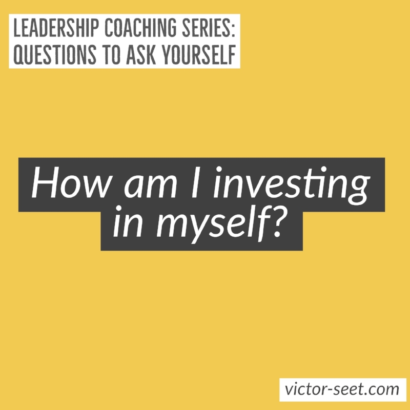 Singapore StrengthsFinder Leadership Coaching Question investment Victor Seet cliftonstrengths