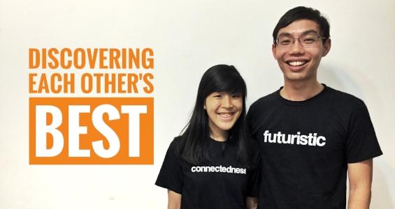 Singapore StrengthsFinder Courtship Samuel Lee Gloria Pang