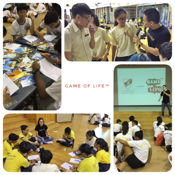 StrengthsFinder Singapore Game of Life Student Leadership Program