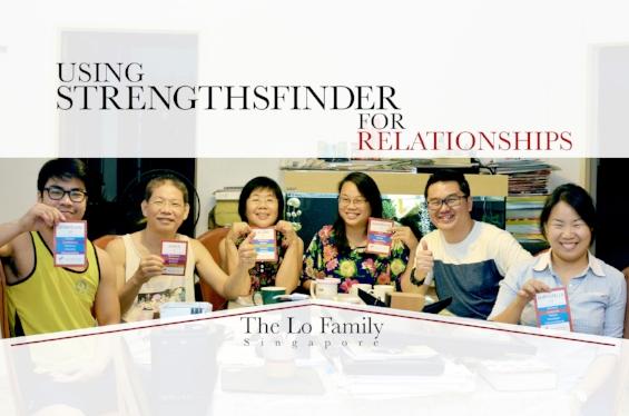 StrengthsFinder Singapore Family Coaching Workshop