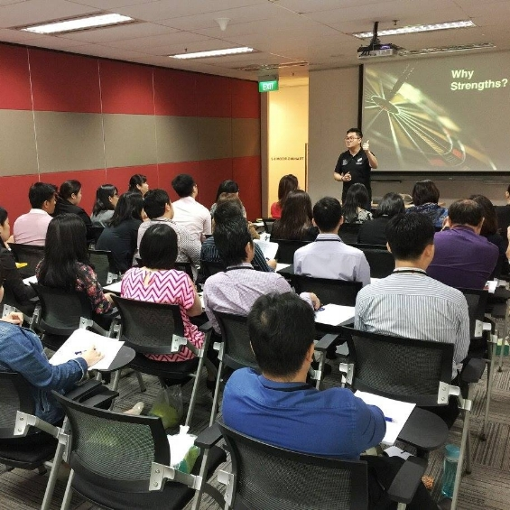 Singapore StrengthsFinder AIA Learning Seminar Talk Victor Seet