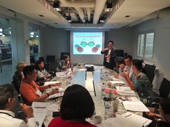 Singapore StrengthsFinder Leadership Workshop Fortune 500 Company Victor Seet