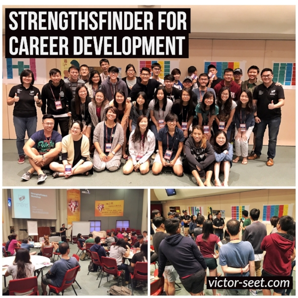 Singapore StrengthsFinder Career Development Workshop using Gallup CliftonStrengths by Coach Victor Seet