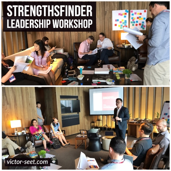 Singapore to China Sanya StrengthsFinder Gallup CliftonStrengths Leadership Workshop by Coach Victor Seet