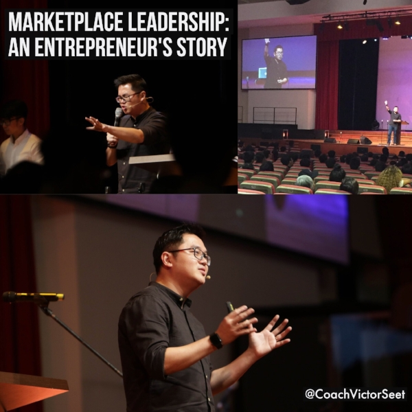 Singapore Entrepreneur Talk on Marketplace leadership StrengthsFinder Coach Victor Seet