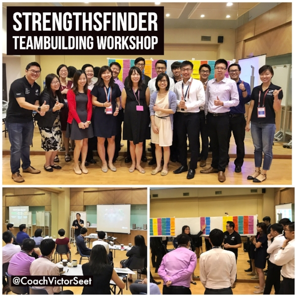 Singapore StrengthsFinder Teambuilding Workshop CAAS Transport Gallup CliftonStrengths by Coach Victor Seet