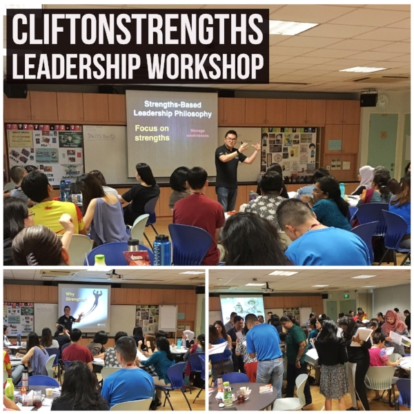 Singapore StrengthsFinder Leadership Workshop for Teachers using Gallup CliftonStrengths Profiling Balestier Hill Primary