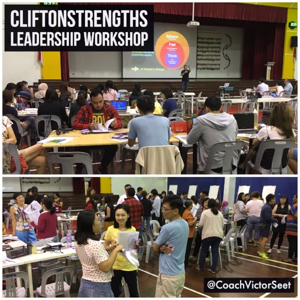 Singapore CliftonStrengths Leadership workshop for Radin Mas Primary Gallup StrengthsFinder Coach Victor Seet