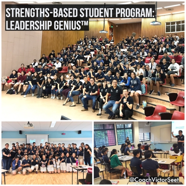 Singapore Gallup StrengthsFinder Cliftonstrengths Leadership Workshop for Serangoon Junior College