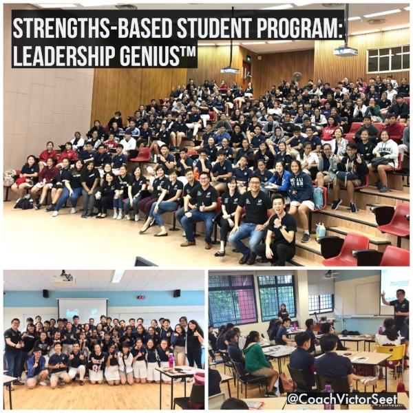 Singapore Gallup StrengthsFinder Cliftonstrengths Leadership Workshop for Serangoon Junior College