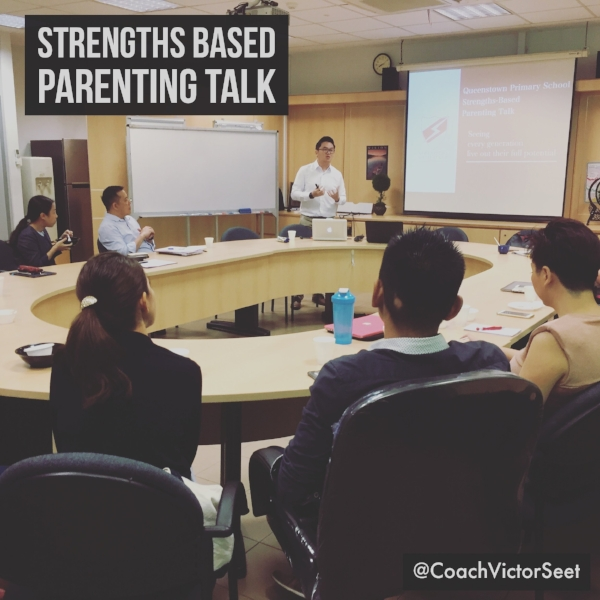 CliftonStrengths Parenting Talk in Singapore for Queenstown Primary School