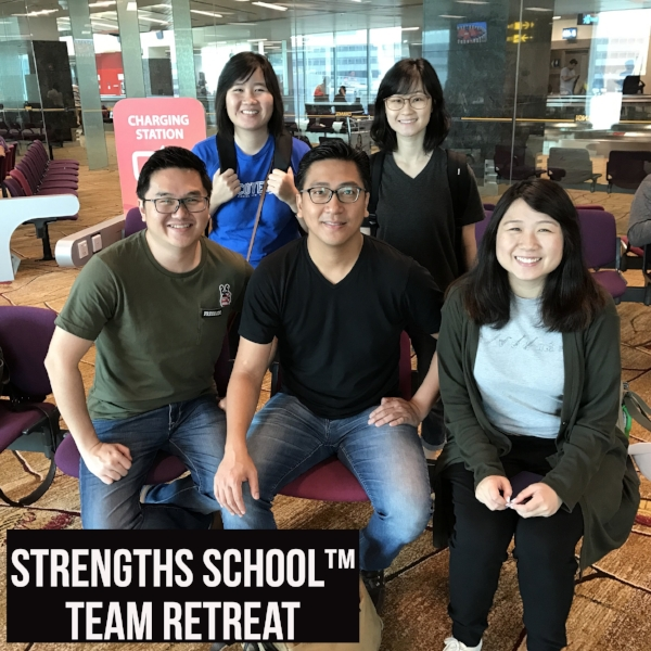 Singapore StrengthsFinder CliftonStrengths Coaches Vietnam Team Building Retreat