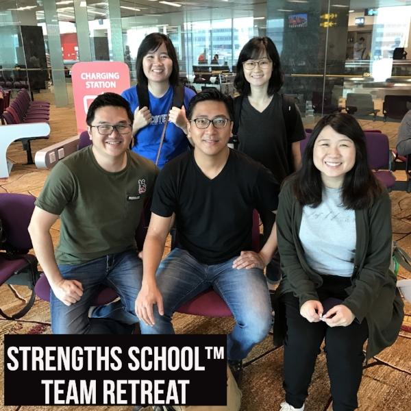 Singapore StrengthsFinder CliftonStrengths Coaches Vietnam Team Building Retreat