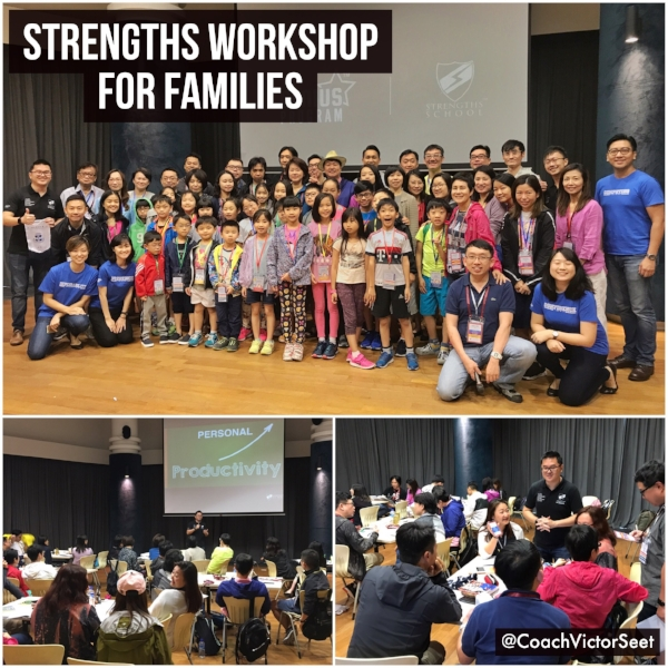 Singapore Gallup StrengthsFinder StrengthsExplorer Family Workshop Coach Victor Seet