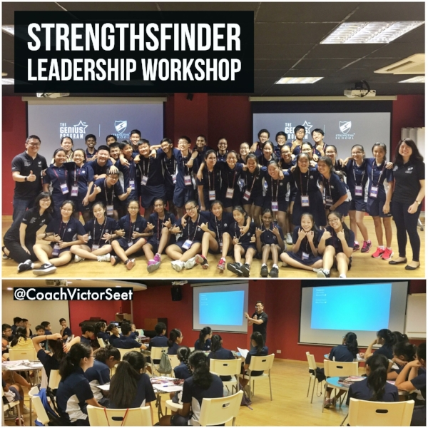 Singapore StrengthsFinder Leadership Student Workshop Kuo Chuan Presbyterian Secondary School