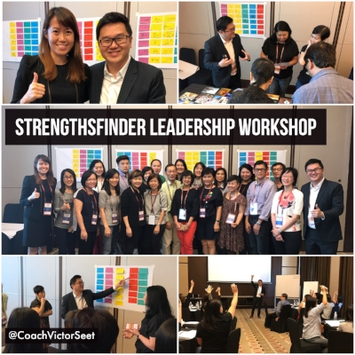 Gallup StrengthsFinder Leadership Workshop Nanyang Technological University NTU Coach Victor Seet.JPG