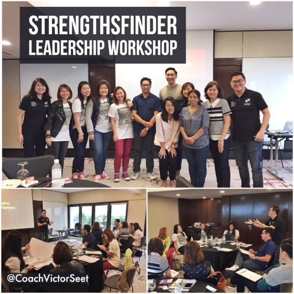 Gallup StrengthsFinder Leadership Workshop Singapore Tourism Board Cultural Precinct Coach Victor Seet