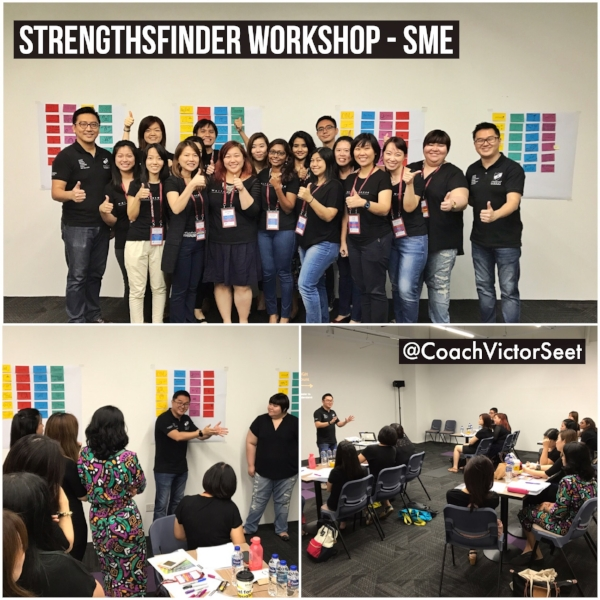 Gallup StrengthsFinder Singapore Workshop SME Victor Seet
