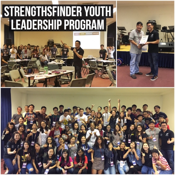 Strengthsfinder singapore leadership workshop Anglican Youth Diocese Serve Program