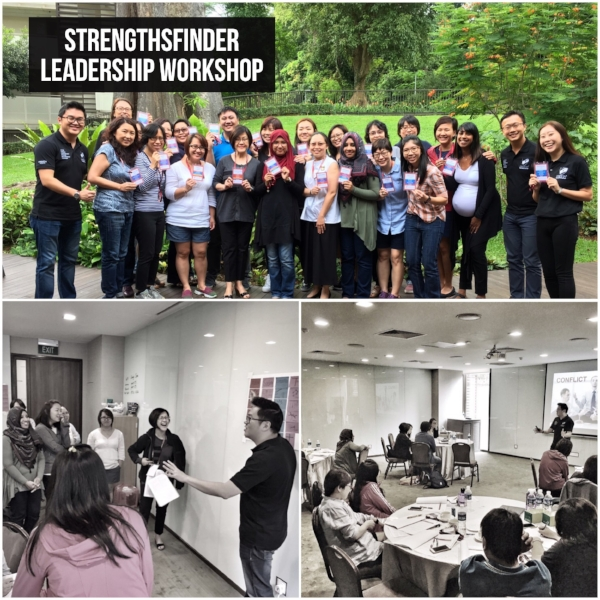 StrengthsFinder Singapore Leadership Workshop CHIJ Kellock Gallup Coach Victor Seet