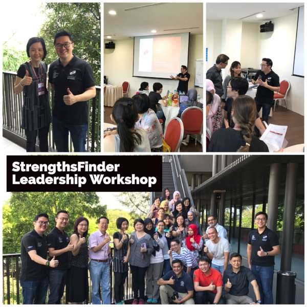 Singapore StrengthsFinder Leadership Workshop White Sands Primary School Gallup Coach Victor Seet