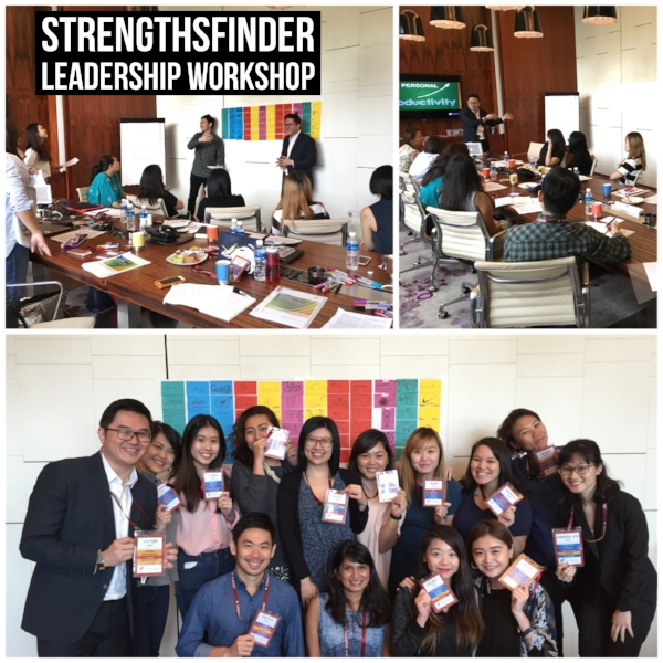 Singapore StrengthsFinder Leadership Workshop Discovery Networks Asia Pacific Coach Victor Seet Amanda Joy