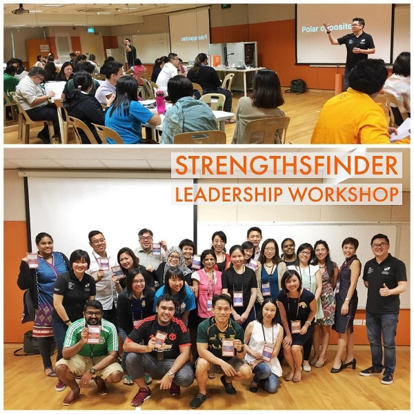 StrengthsFinder Leadership Workshop Singapore Victor Seet RMPS