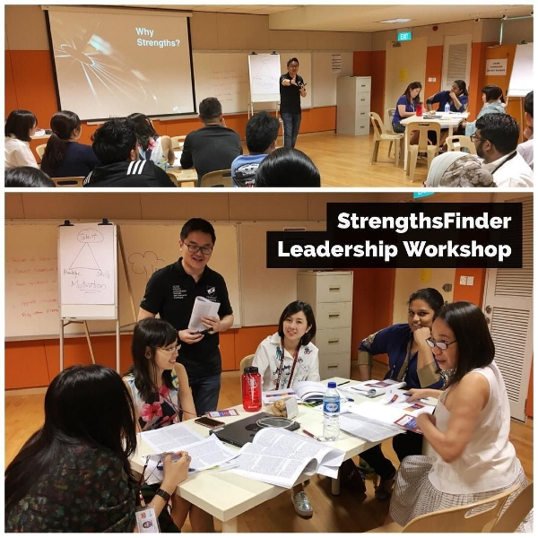 StrengthsFinder Leadership Workshop KPs Radin Mas