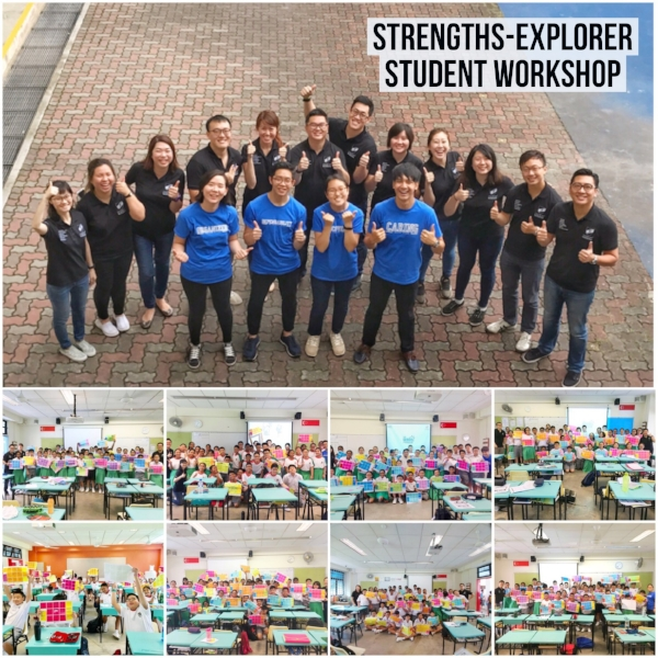 Singapore StrengthsExplorer Student Cohort Workshop Gallup Coach Victor Seet Ahmad Ibrahim Secondary School