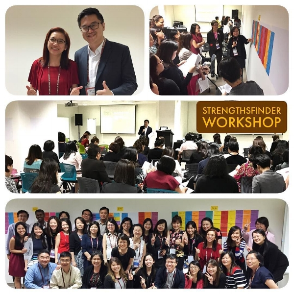 StrengthsFinder Singapore TEAM BUILDING Workshop Singhealth Human Resource Victor Seet