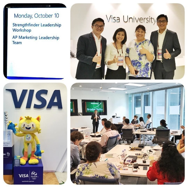 StrengthsFinder Singapore Leadership Workshop Visa Corporate Government Victor Seet