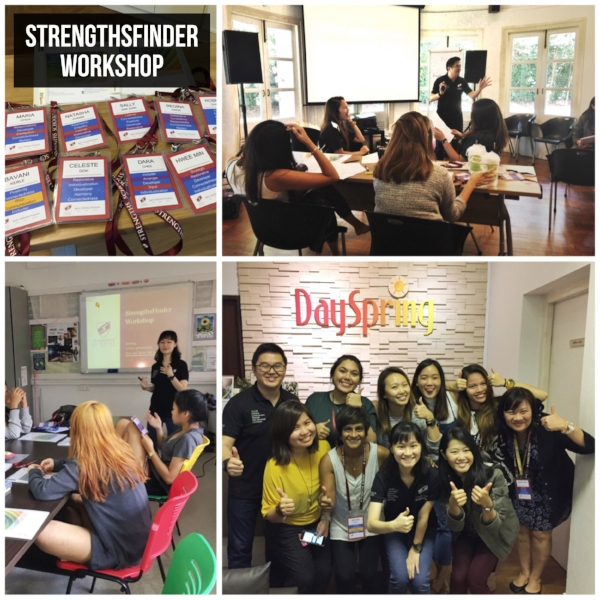 Singapore StrengthsFinder Workshop DaySpring Non-Profit Coach Victor Seet