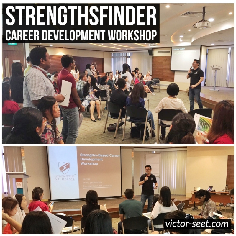 StrengthsFinder Singapore MSF Career Workshop Program Victor Seet