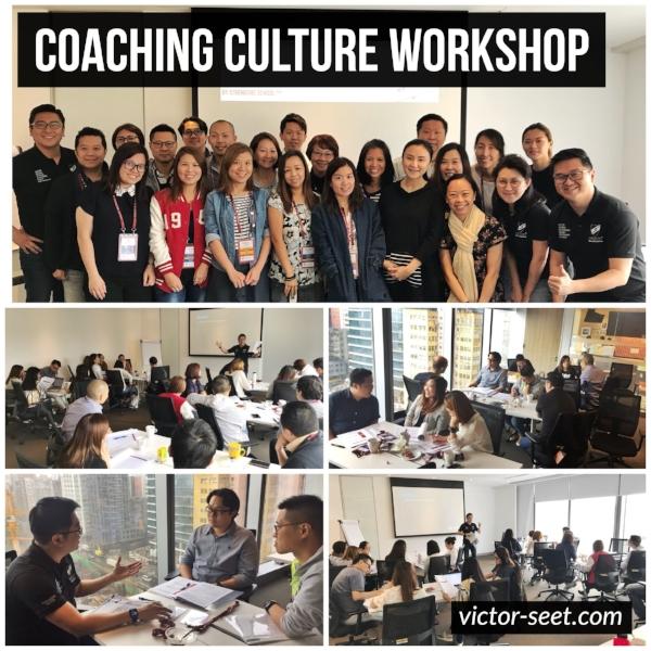 StrengthsFinder Coaching Culture Workshop VF Hong Kong Victor Seet