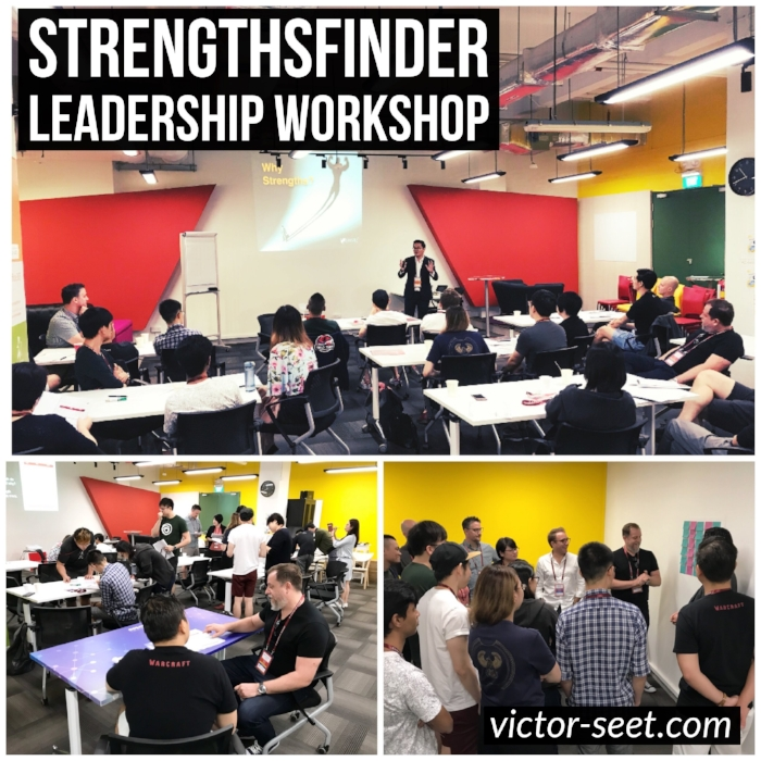 StrengthsFinder Singapore Leadership Workshop CliftonStrengths Ubisoft Coach victor seet