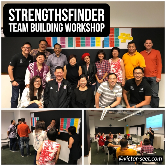 Gallup StrengthsFinder (CliftonStrengths) Team Building Workshop SeraphCorp Coach Victor Seet